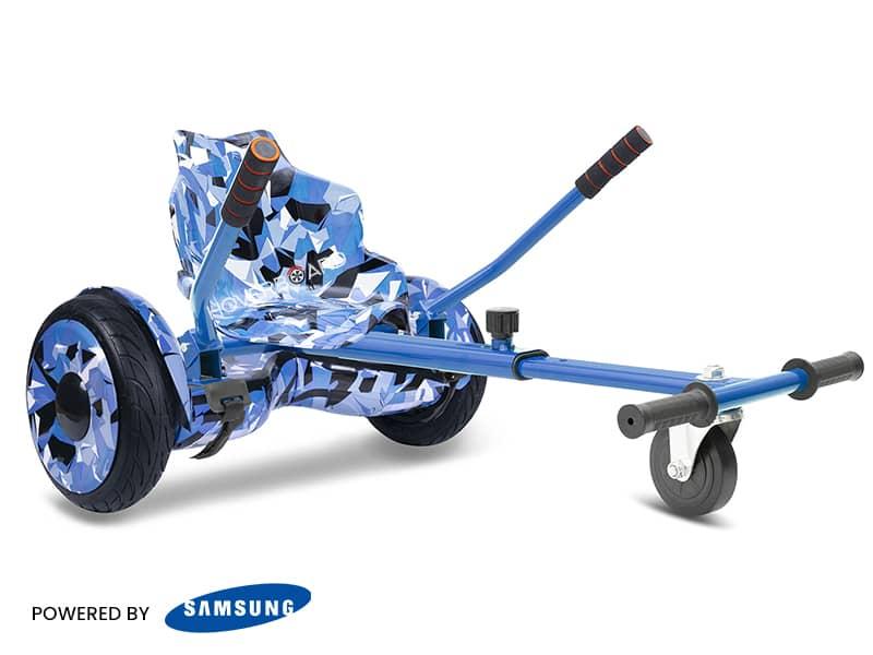 Roller Blue Camo With Blue Camo Kart