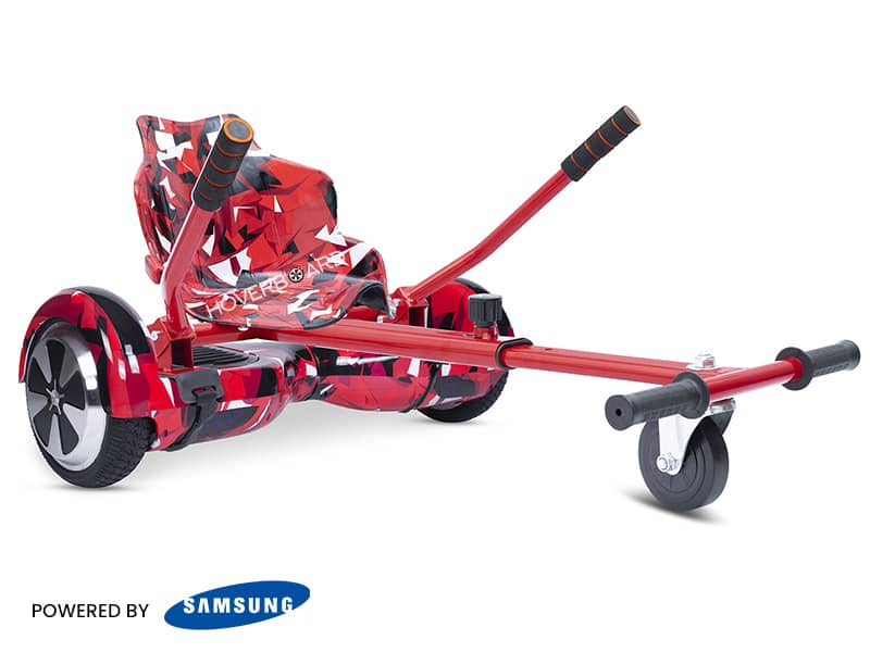 Air Red Camo With Red Camo Classic Kart