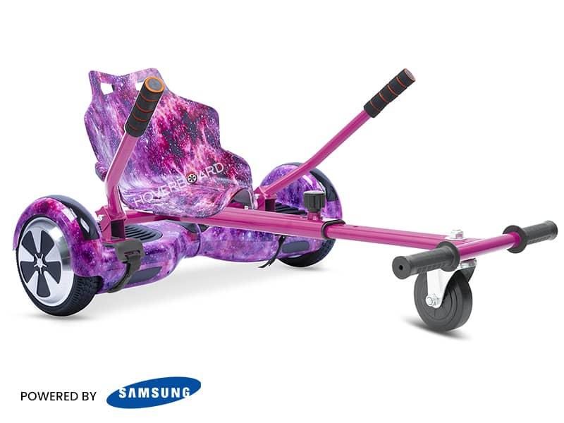 Air Pink Galaxy With Galaxy Kart