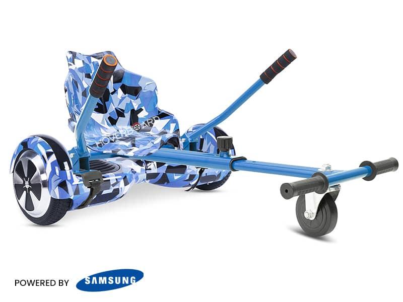Air Blue Camo With Blue Camo Classic Kart
