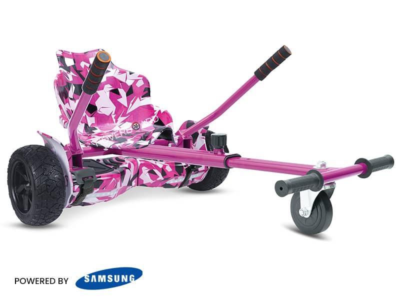 Ranger Pink Camo With Pink Camo Kart