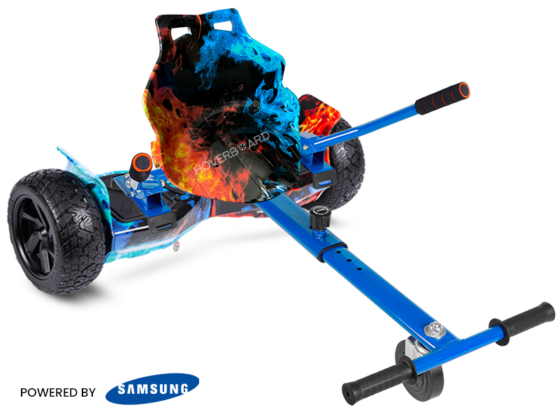 Ranger Flame With Flame Kart