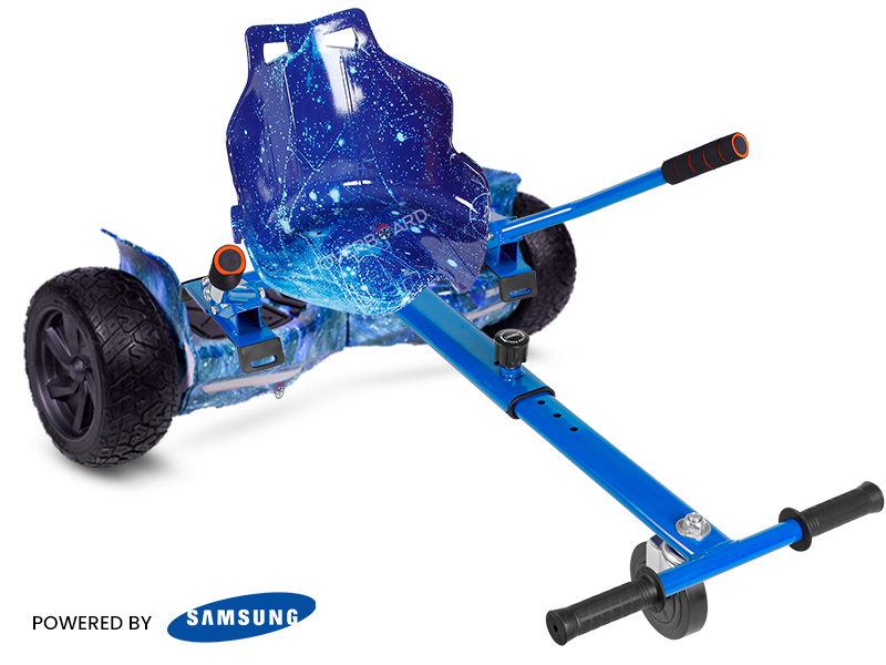 Ranger Blue Galaxy With Galaxy Kart